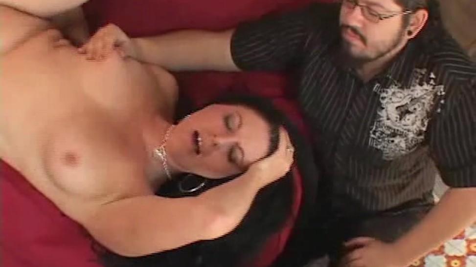 Wife Mature Sucks Black Cock
